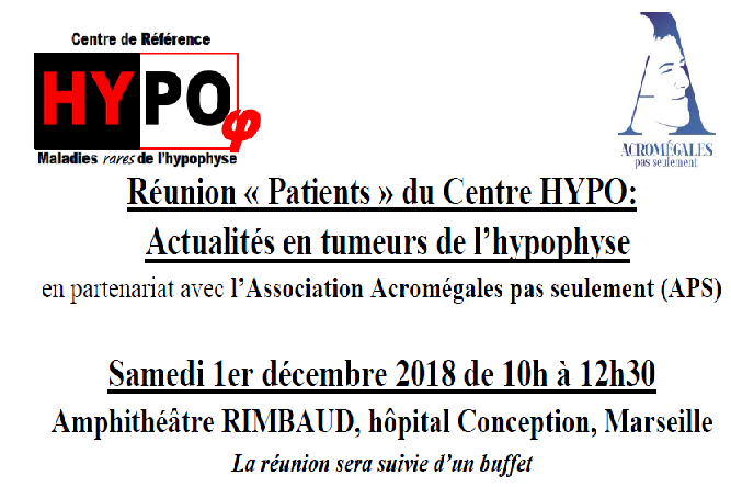 Réunion Patients Hypo à Marseille
